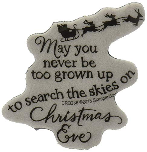 Stampendous Cling Stamp, Christmas Sky ()