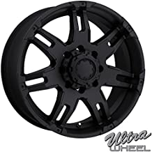 ULTRA 237B Gauntlet 17X9 8x6.5 +0 Matte Black (Qty of 1)