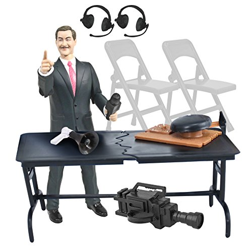 Wrestling Action Figure Gear Announcer Special Deal 5 For WWE Wrestling Figures