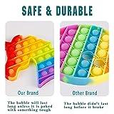 2 Packs Pop Bubble Fidget Sensory Toys, Figit Set