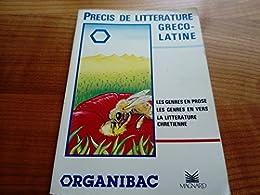 Précis de littérature gréco-latine