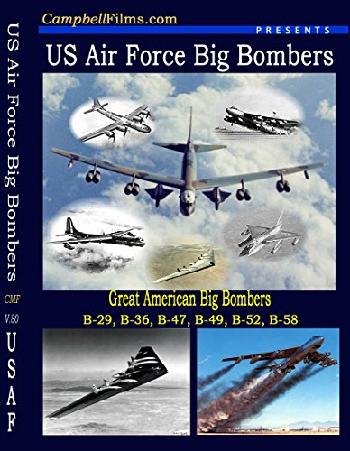 Stratojet Bomber (USAF Big American Bomber DVD B-29 B-36 B-47 B-49 B-52 B-58 Historical old Films Newsreels DVD)