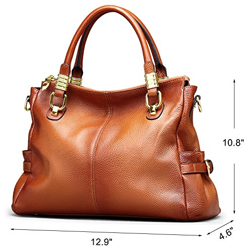 and Tote Women Jack Handbags for Shoulder Brown amp;Chris Leather Purses WB517 Bag Ladies Bag pwxxtX4C