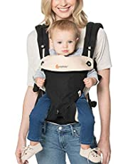 Ergobaby Four Position 360 Baby Carrier, Black/Camel