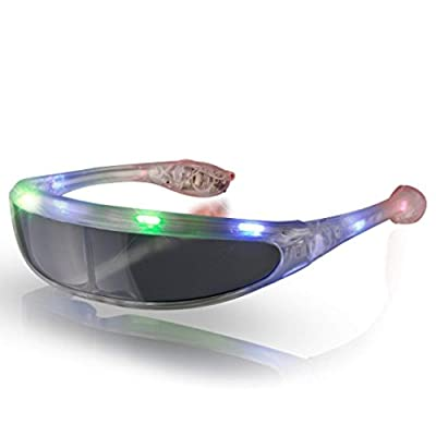 blinkee Futuristic LED Sunglasses Multicolor by: Toys & Games