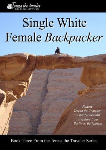 Single White Female Backpacker (Black and White)