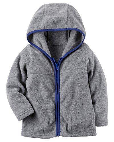 Boys Hooded Fleece Jacket - 7