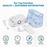 Ultrasonic Cool Mist Humidifier ~ Super Quiet Air Moisturizer with 1.3 Gallon Tank (5.2 Liters), Custom Controls, Automatic Shutoff + 2 Demineralization Cartridges (1 Inside, 1 Extra) by Clarion Air