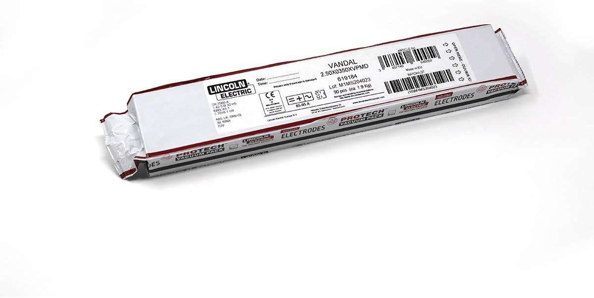 Electrode basique Vandal Lincoln 3,2 x 450 Bo/îte de 55 unit/és