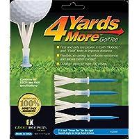 "4 yardas más Golf Tee - 3 1/4 ""Driver (4 Tees azules)"