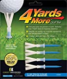 """4 Yards More Golf Tee - 3 1/4"""" Driver (4 Blue Tees)"""