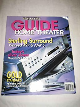 stereophile guide to home theater october 1998 18 vol 4 no 8 rh amazon com Local Theaters Home Theater Room Design