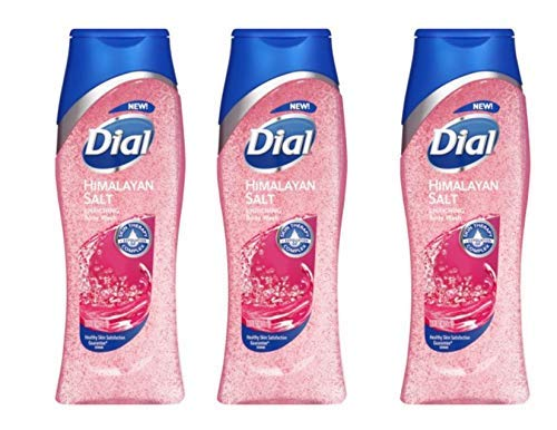 (Dial Skin Therapy Replenishing Body Wash, Himalayan Pink Salt & Water Lily, 16 Oz (Pack of 3))