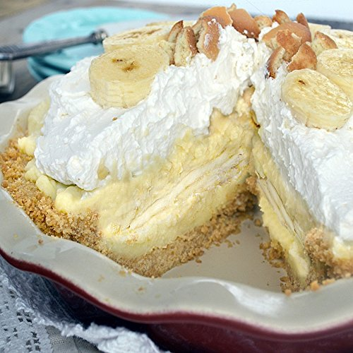 (BANANA CREAM PIE FRAGRANCE OIL - 1 LB/16 OZ - FOR CANDLE & SOAP MAKING BY VIRGINIA CANDLE SUPPLY - FREE S&H IN USA)