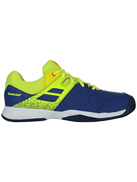 Babolat - Zapatillas de Tenis de Sintético para niño Azul BLU/Fluo: Amazon.es: Zapatos y complementos
