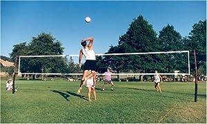 Cobra guy wire free 3-in-1 game volleyball, beach tennis & badminton net system. by Cobra Sports International, Inc.