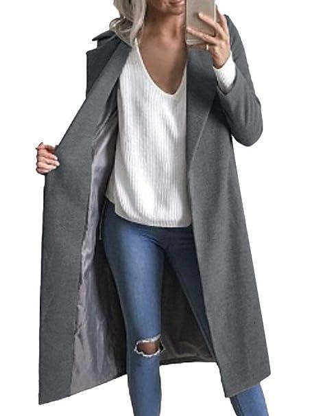 amazon cappotti grigio