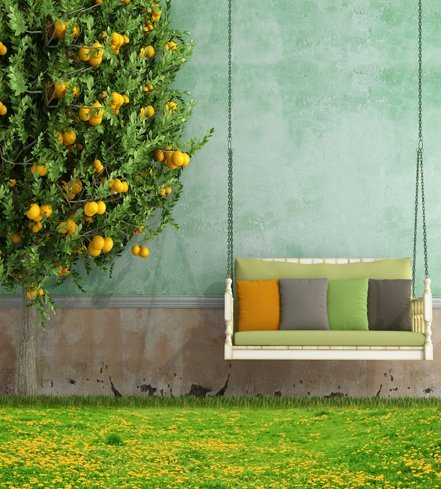 garden-fruit-tree-swing-polyester-cotton-photo-background-customize-seamless-waterproof-printed-came