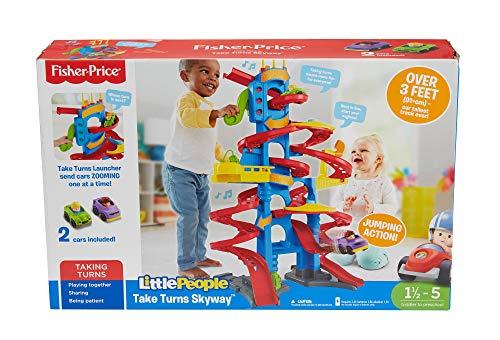 51B7ykBc43L - Fisher-Price Little People Take Turns Skyway