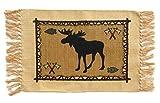 Southwest Cotton Stencil Placemats---Mountain Wildlife Moose
