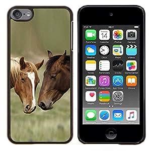 Stuss Case / Funda Carcasa protectora - Los amigos del caballo - Apple iPod Touch 6 6th Touch6