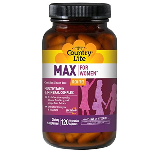 Country Life Maxine For Women -- 120 Tablets