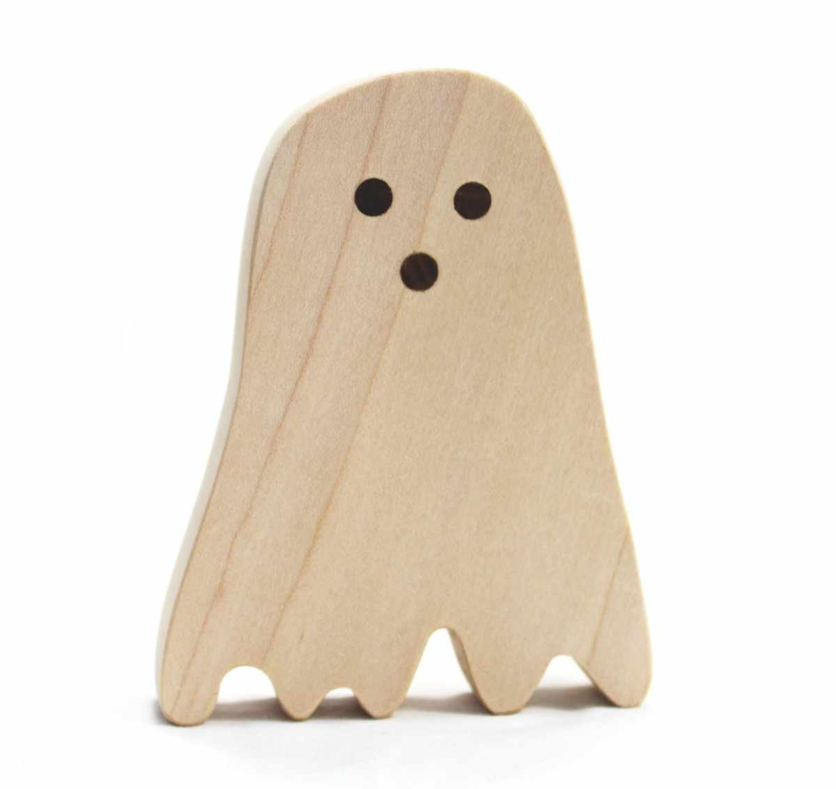 Classic Wood Toy Ghost