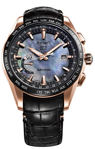 Mens-Seiko-Astron-GPS-Solar-World-Time-Rose-Gold-Titanium-LIMITED-EDITION-Watch-SSE105-Novak-Djokovic-Limited-Edition