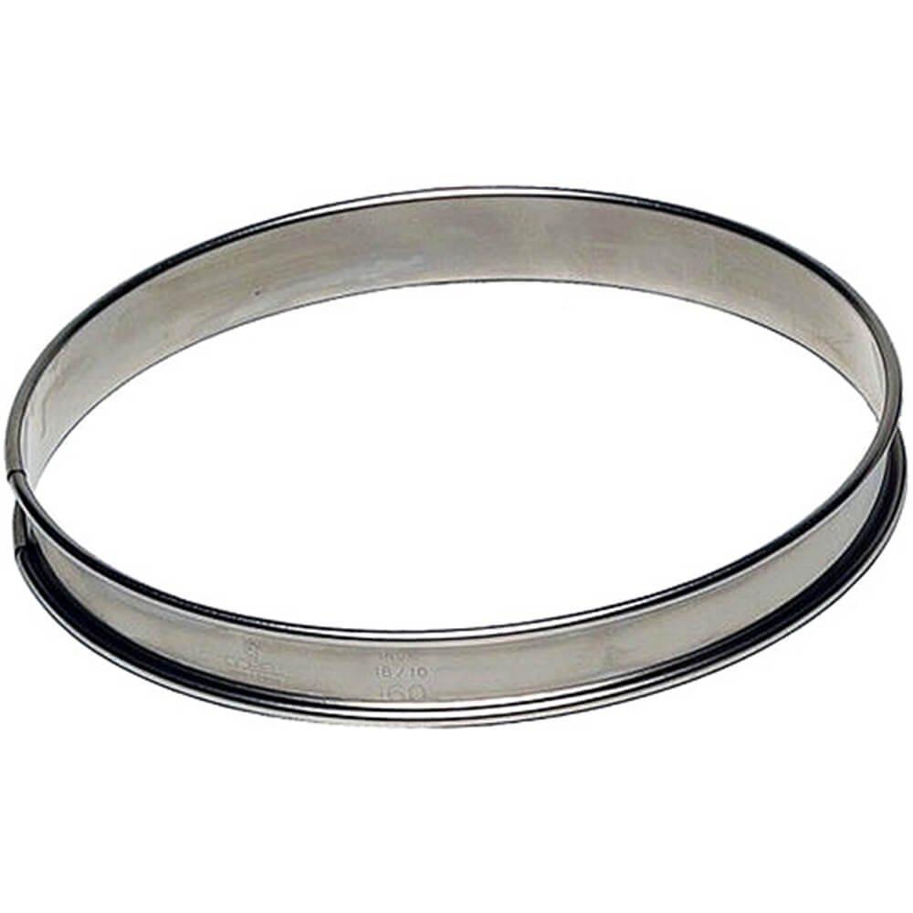 Paderno World Cuisine Pastry/Tart Ring, 9.5'' Stainless Steel 47533-24