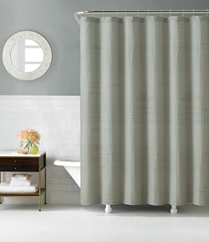 Victoria Classics PNI SHC 7272 BB SG Praline Shower Curtain 72 X Sage Outlet