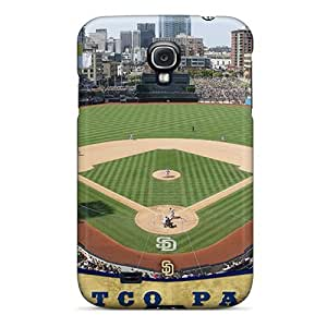 Durable Hard Cell-phone Case For Samsung Galaxy S4 (wtI3483dmyH) Support Personal Customs Lifelike San Diego Padres Pictures WANGJING JINDA
