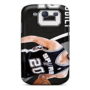 High-quality Durability Case For Galaxy S3(san Antonio Spurs)
