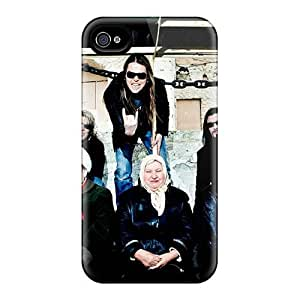 Scratch Protection Hard Phone Case For Iphone 4/4s With Unique Design Fashion Apocalyptica Band Pictures CristinaKlengenberg