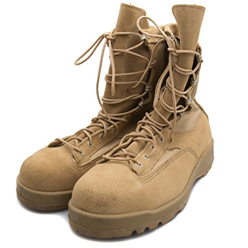New Made in US 790 G Belleville GI Desert Tan Military Army Combat Waterproof Goretex Temperate Flight Boots (9 Regular)