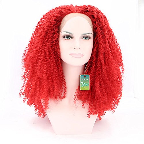 Icos  (Red Bouffant Wig)