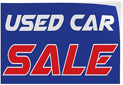 69inx46in One Sticker Decal Sticker Multiple Sizes Used Car Sale Blue Red Business Car Outdoor Store Sign Blue