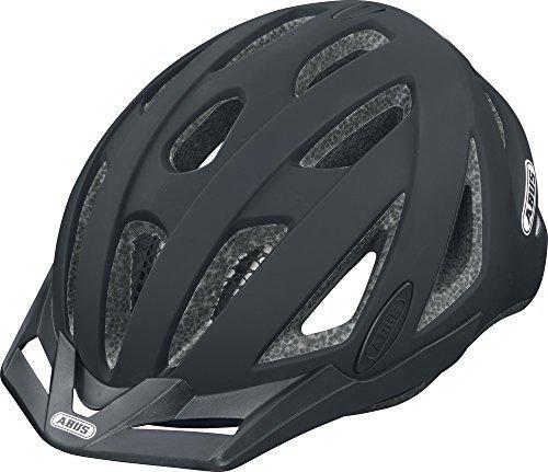 [해외] ABUS urban-i V 2자전거 헬멧 블랙 벨벳 블랙 사이즈: 56 – 61 cm by ABUS
