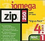 Iomega - ZIP - 250 MB - Mac - storage media