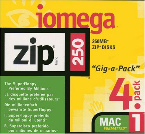 Iomega - ZIP - 250 MB - Mac - storage media