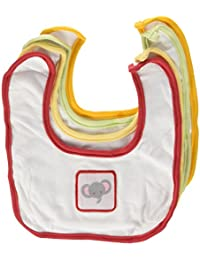 Animal Crackers for Messy Snackers 4 Piece Bib Set (Discontinued by Manufacturer)