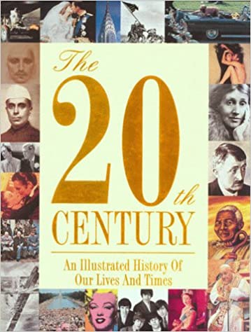 book cover of the 20th century's most important events.