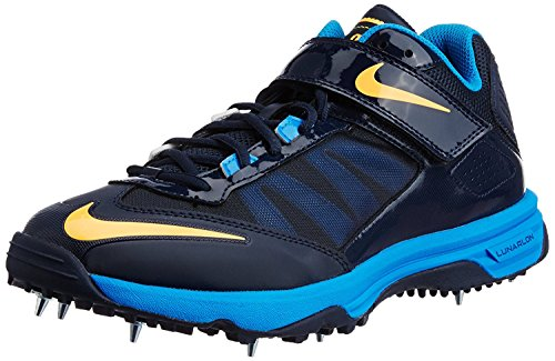 Nike Lunaraccelerate Cricket Shoes Mens, Azul, 41 EU/7 UK