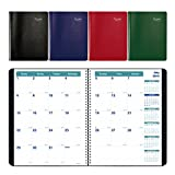 """Brownline 2018-2019 14-Month Academic Planner, 11""""x8.5"""", Month To View Diary, July to August, Assorted Colours, English (CA701.ASX-2019)"""