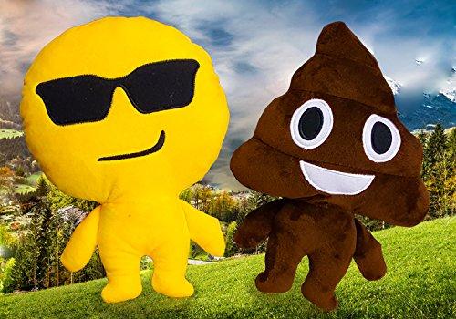 Set Of 3 Bewild Brand Emoji Man Cute Adorable Soft