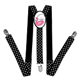 Kids Summer With Flamenco Float Braces Suspenders Children Boys / Girls Clip-on Adjustable Y-back Belts