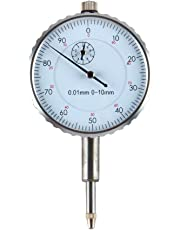 Dial Indicator Measuring Gauge 0-10MM Outer Measuring 0.01mm Accurate Clock