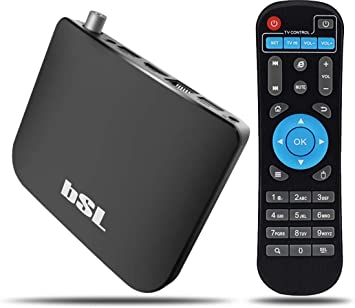 BSL - Caja-Android-con-TDT-For-Hibrid-TV-Bsl: Amazon.es: Electrónica