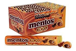 Mentos Choco Roll Caramel, 12 x 38 g, Caramel