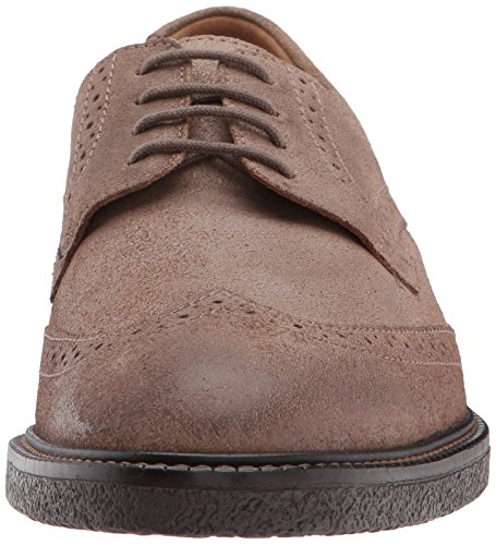 Mephisto Mens Geffray Oxford Dark Taupe Lavato