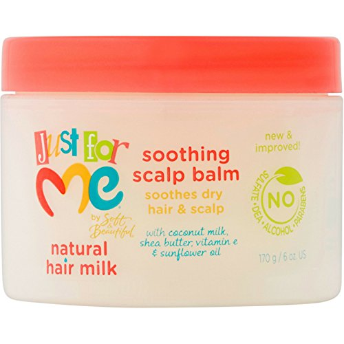Just For Me Natural Hair Milk Soothing Scalp Balm 6 oz (Pack of 6) ()